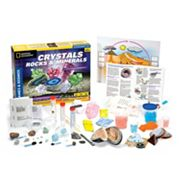 Thames & Kosmos Crystals, Rocks & Minerals Experiment Kit