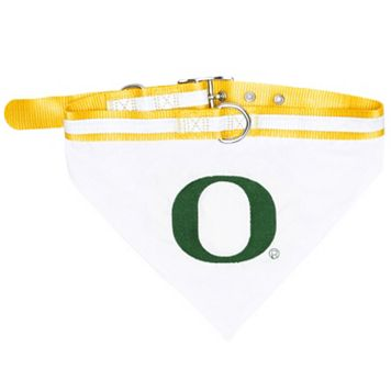 Oregon Ducks NCAA Bandana Pet Collar