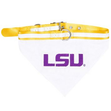 LSU Tigers NCAA Bandana Pet Collar