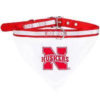 Nebraska Cornhuskers NCAA Bandana Pet Collar