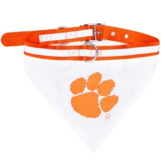 Clemson Tigers NCAA Bandana Pet Collar