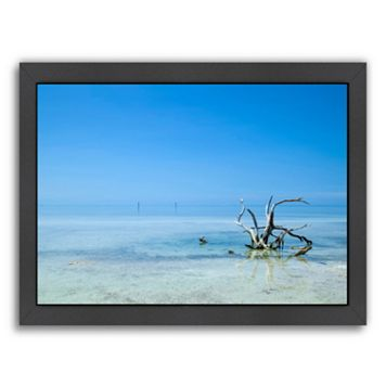 Americanflat Florida Lonely Root Framed Wall Art