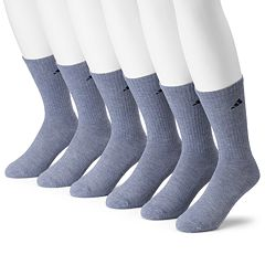 Men's adidas 6-pack climalite Cushioned Performance Crew Socks