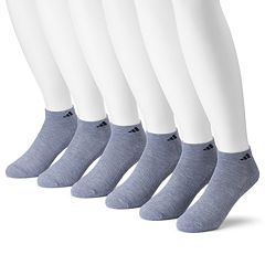 Men's adidas 6-pack climalite Cushioned Performance Low-Cut Socks