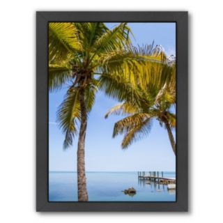 Americanflat Florida Keys Lovely Oceanside Framed Wall Art