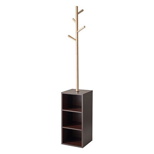 Adesso Hutch Storage Coat Rack