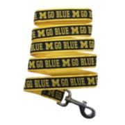 Pets First Michigan Wolverines Nylon Pet Leash