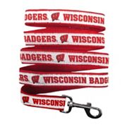 Pets First Wisconsin Badgers Nylon Pet Leash