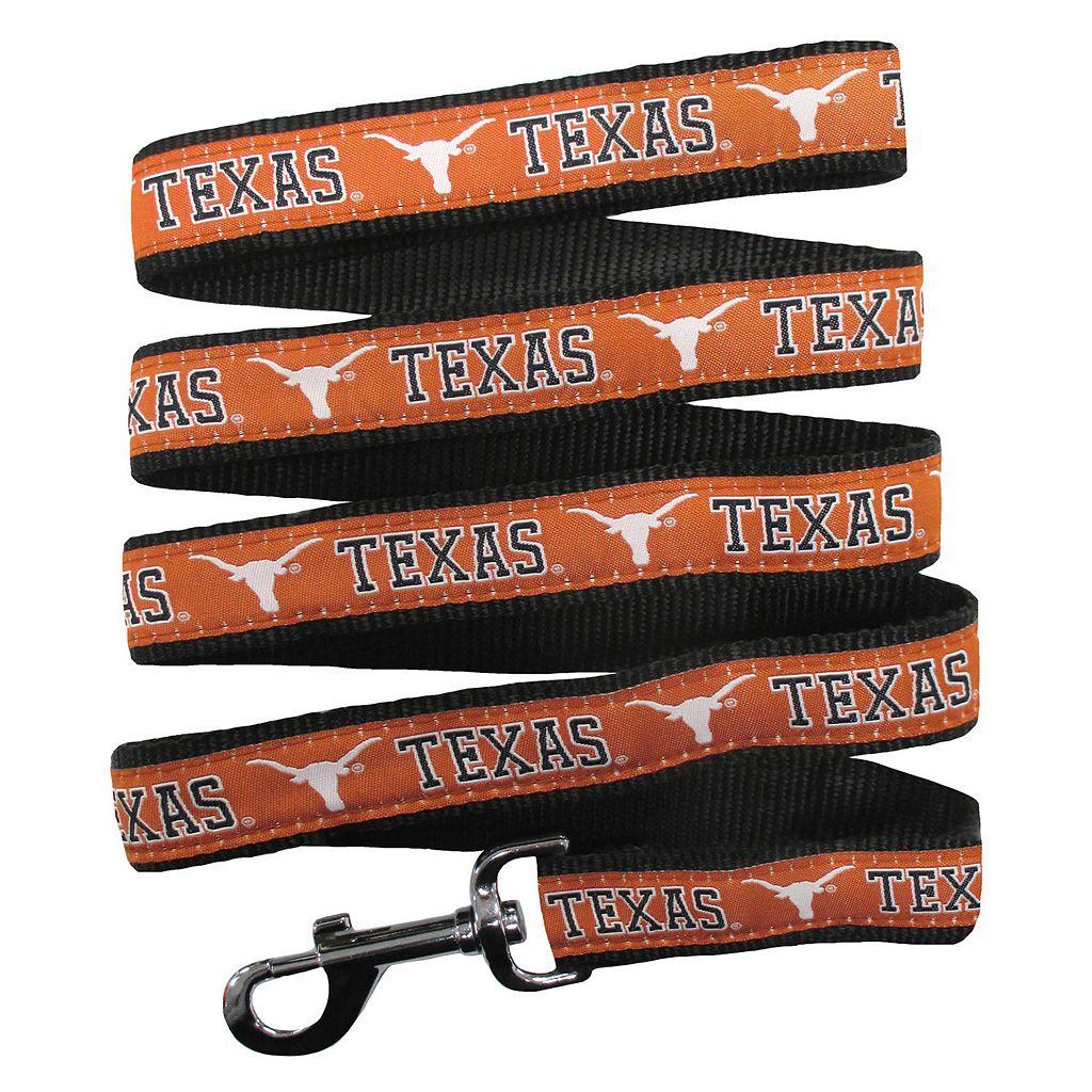 Pets First Texas Longhorns Nylon Pet Leash