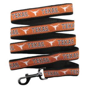 Pets First Texas Longhorns Nylon Pet Leash