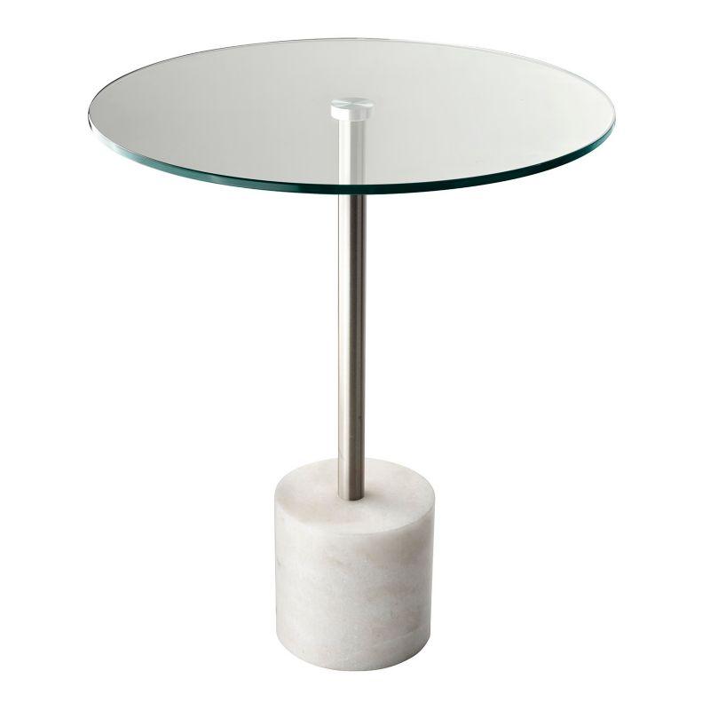 Adesso Blythe End Table, White