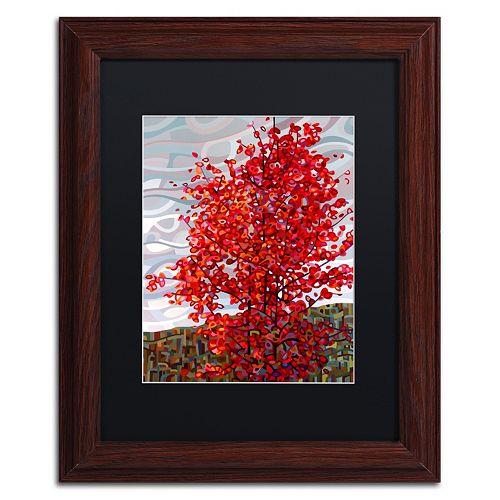 """Trademark Fine Art Mandy Budan """"Passing Storm"""" Matted Framed Wall Art"""