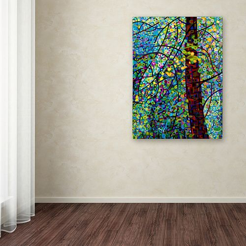 "Trademark Fine Art Mandy Budan ""Pine Sprites"" Canvas Wall Art"