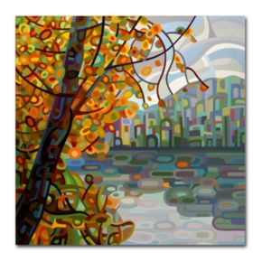 "Trademark Fine Art Mandy Budan ""Reflections"" Canvas Wall Art"