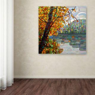 "Trademark Fine Art Mandy Budan ""Reflections"" Canvas Wall Art"