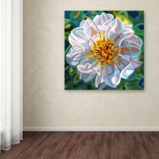 "Trademark Fine Art Mandy Budan ""Solitaire"" Canvas Wall Art"