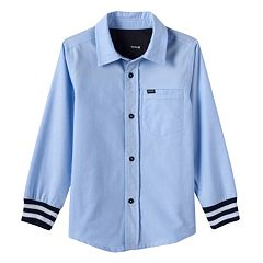 Toddler Boy Hurley Button-Down Shirt