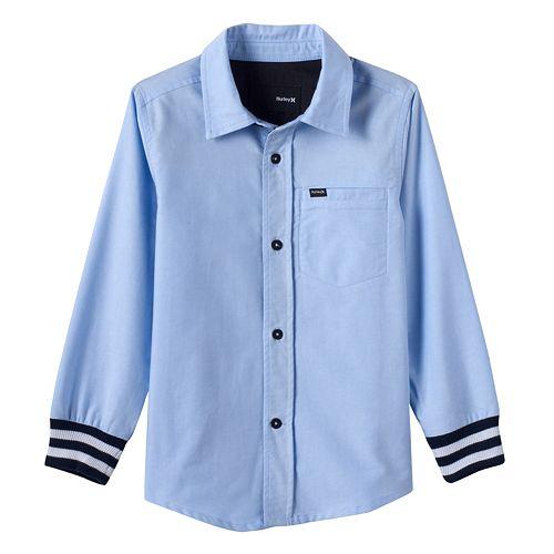 Toddler Boy Hurley Button-Down Shirt