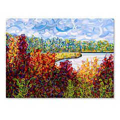 Trademark Fine Art Mandy Budan 'Summers End' Canvas Wall Art