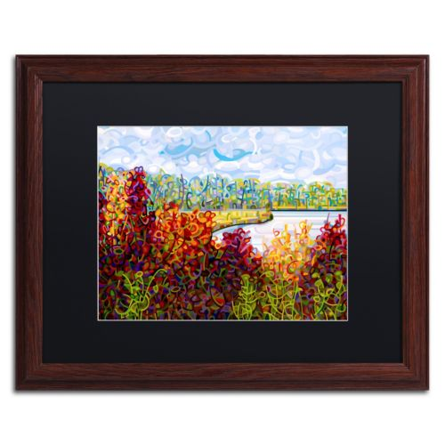 "Trademark Fine Art Mandy Budan ""Summers End"" Matted Framed Wall Art"
