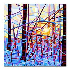 Trademark Fine Art Mandy Budan 'Sunrise' Canvas Wall Art