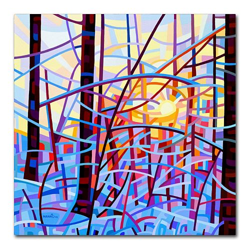 "Trademark Fine Art Mandy Budan ""Sunrise"" Canvas Wall Art"