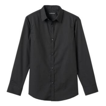 Boys 8-20 Van Heusen Polka-Dot Button-Down Shirt