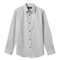 Boys 8-20 Van Heusen Diamond Dot Button-Down Shirt