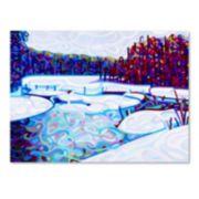"Trademark Fine Art Mandy Budan ""Thaw"" Canvas Wall Art"
