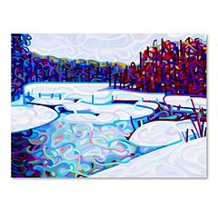 Trademark Fine Art Mandy Budan 'Thaw' Canvas Wall Art