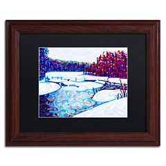 Trademark Fine Art Mandy Budan 'Thaw' Matted Framed Wall Art