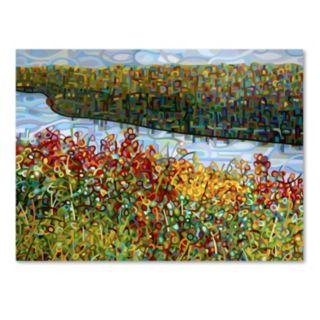 "Trademark Fine Art Mandy Budan ""The River"" Canvas Wall Art"
