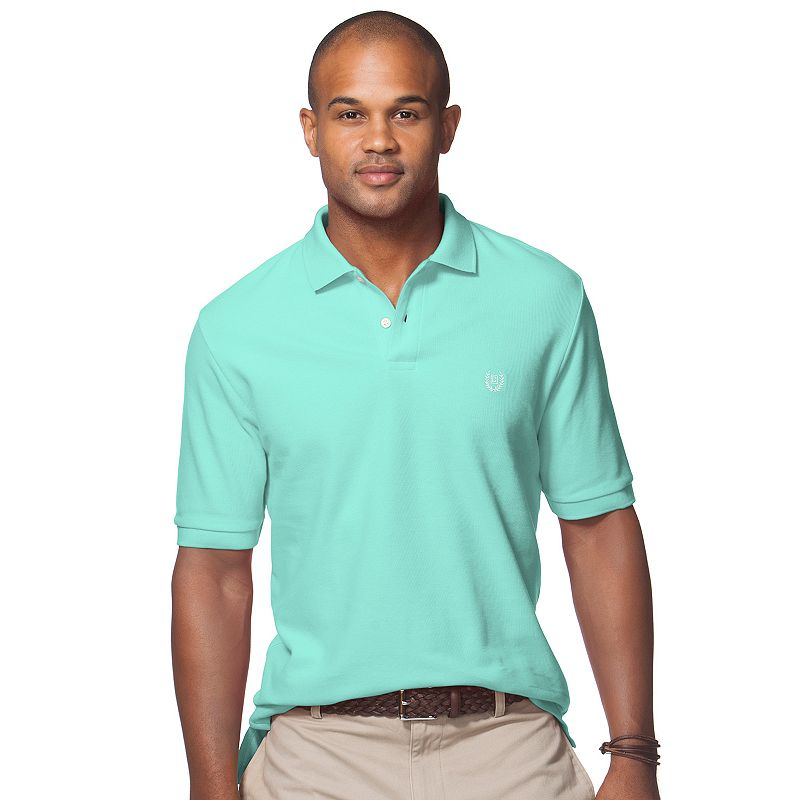 Men's Chaps Classic-Fit Solid Stretch Polo