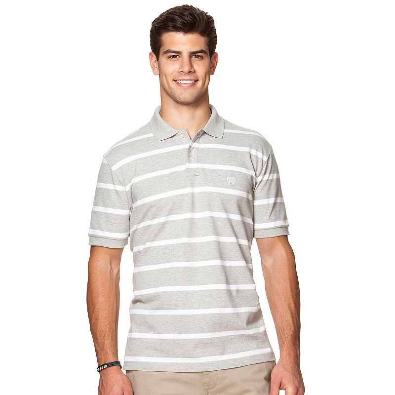 Men's Chaps Classic-Fit Striped Stretch Polo