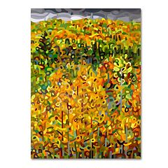 Trademark Fine Art Mandy Budan 'Towards Autumn' Canvas Wall Art