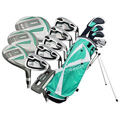 Women's Bullet .444 Right Hand Complete Emerald Golf Clubs & Stand Bag Set