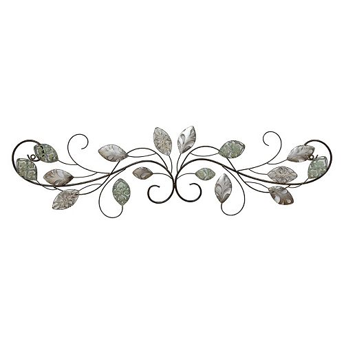 Stratton Home Decor Leaves Metal Wall Decor