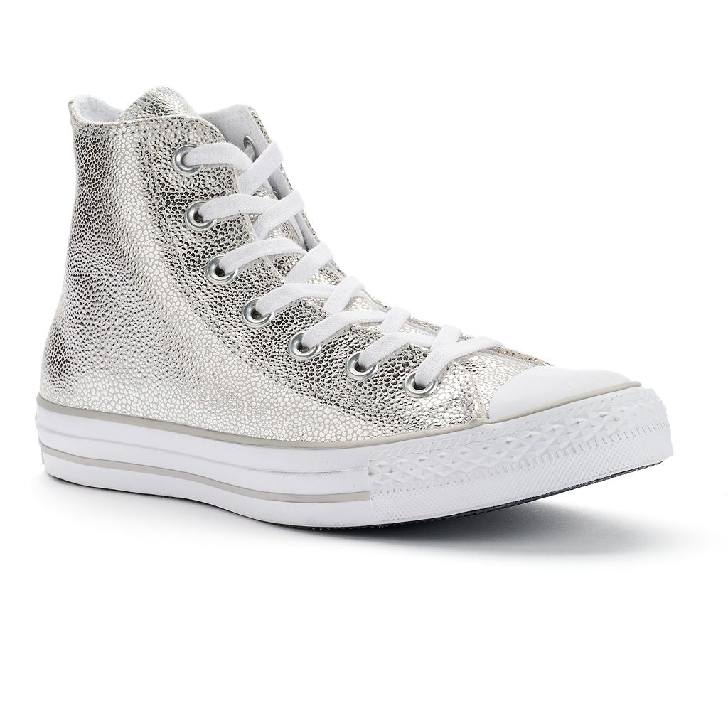 Women's Converse Chuck Taylor All Star Stingray Metallic High-Top Sneakers