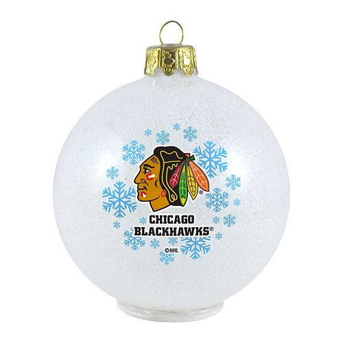 chicago blackhawks led ball christmas ornament - Chicago Christmas Ornament