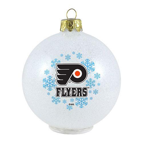 - Philadelphia Flyers LED Ball Christmas Ornament