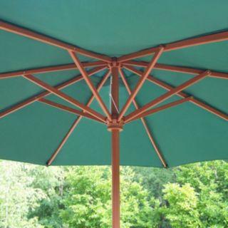 9-ft. Outdoor Crank Umbrella