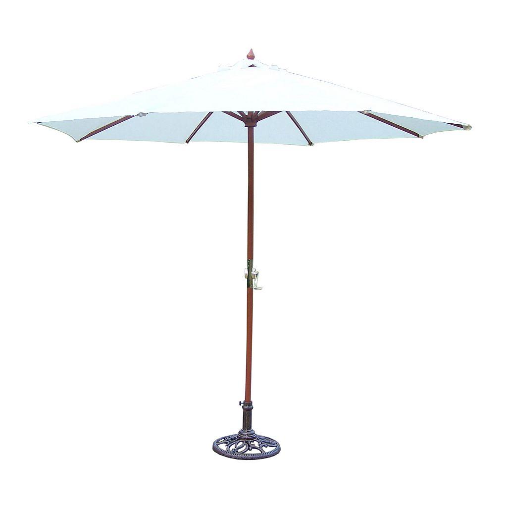 9-ft. Outdoor Umbrella & Stand