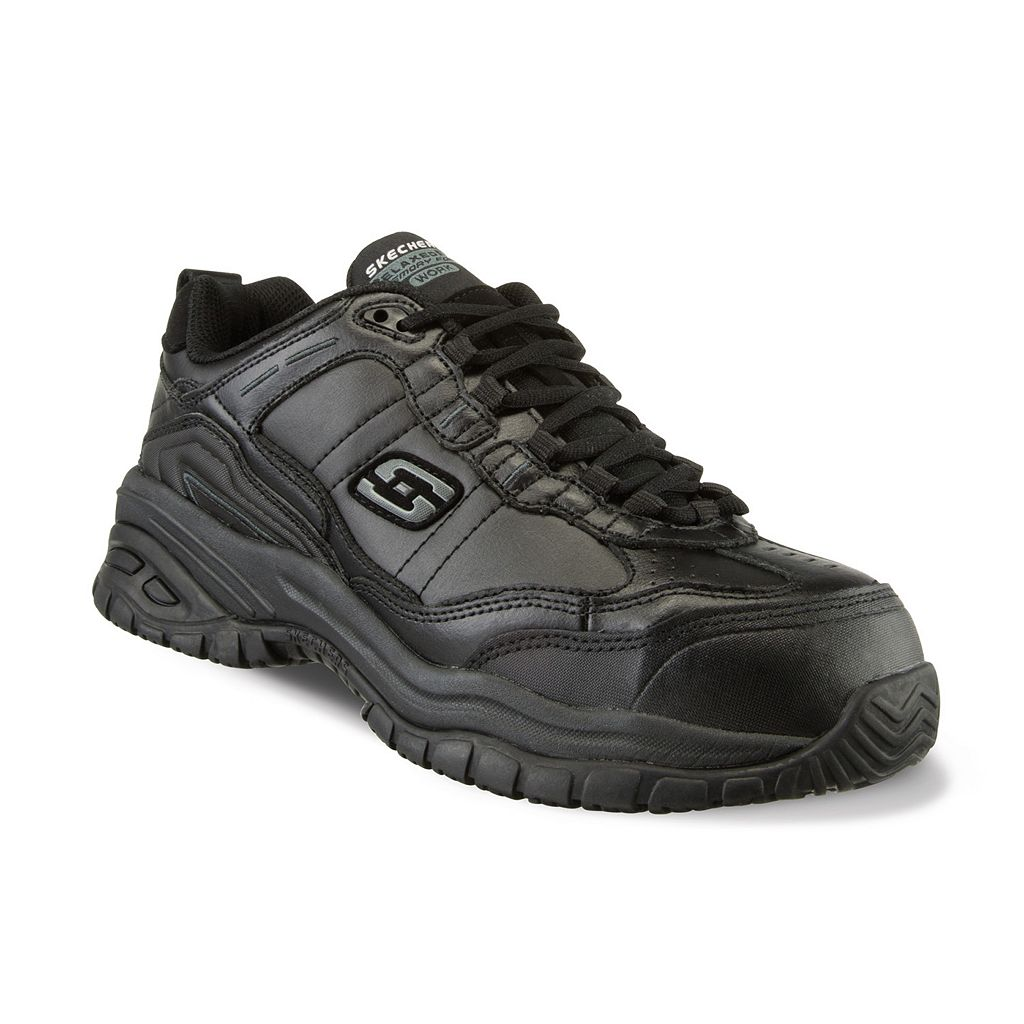 Skechers Work Relaxed Fit Soft Stride Chatham Men's Composite-Toe shoes