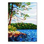"Trademark Fine Art Mandy Budan ""View From Mazengah"" Canvas Wall Art"