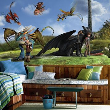 DreamWorks How To Train Your Dragon 2 Wall Mural by RoomMates