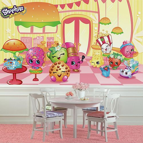 RoomMates Shopkins XL Chair Rail Wall Mural