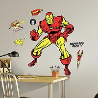 Marvel Iron Man Comic Peel and Stick Giant Wall Decals by RoomMates