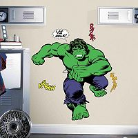 Marvel Hulk Comic Peel and Stick Giant Wall Decals by RoomMates