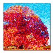 Trademark Fine Art Buddha Tree Canvas Wall Art