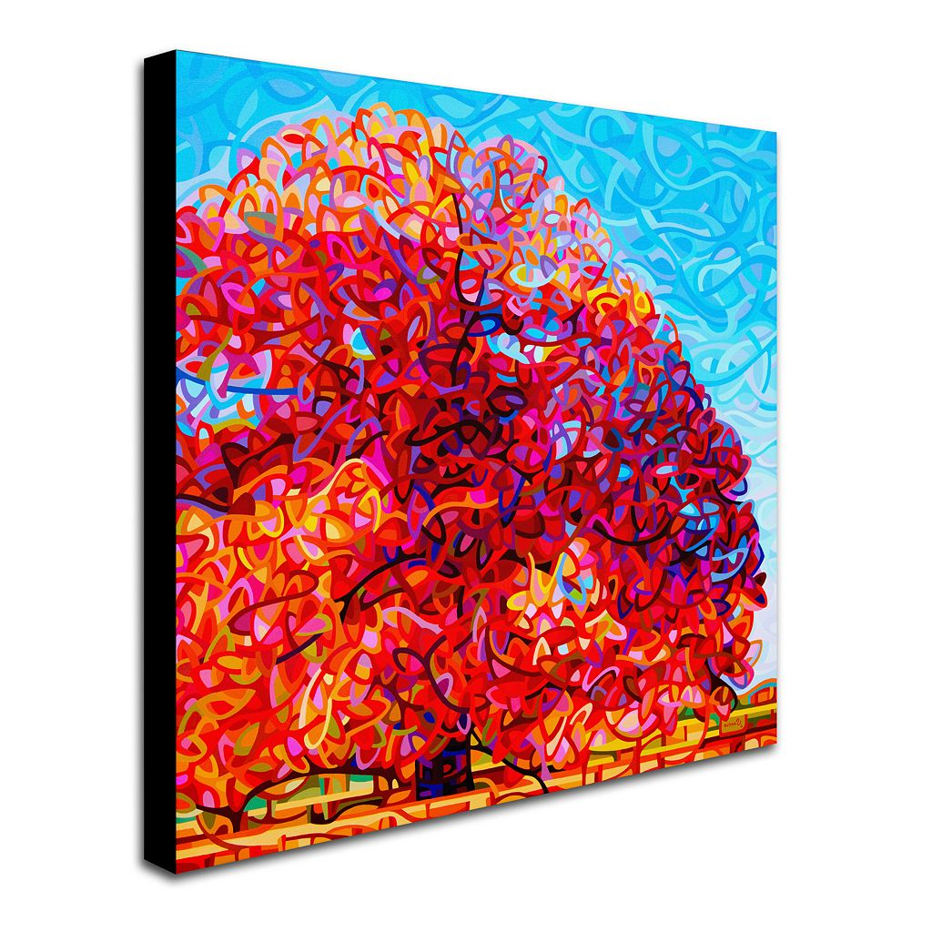 Trademark Fine Art Buddha Tree Canvas Wall Art